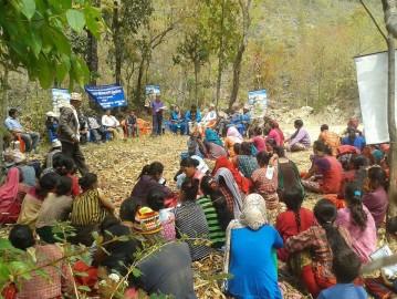 माकुराको पहलमा २७ वर्षपछि सामुदायिक वन हस्तान्तरण