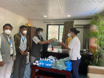 द्वन्द्व रुपान्तरण केन्द्रका कार्यकारी निर्देशक थापा भन्नुहुन्छ -कोभिड १९को रोकथाम तथा प्रतिकार्यमा सवै लागौं